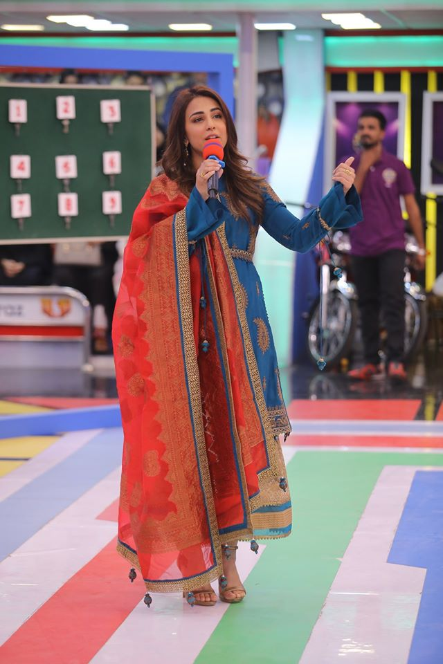 Famous Celebrities Spotted at Jeeto Pakistan Gyara Gyara 11-11 Special Show (5)