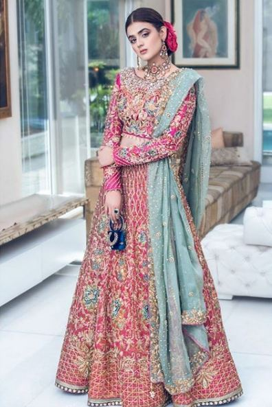 Hira Mani Pakistani Actress Bridal Photo Shoot for Nickie Nina (11)