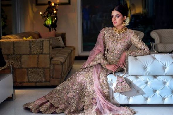 Hira Mani Pakistani Actress Bridal Photo Shoot for Nickie Nina (13)