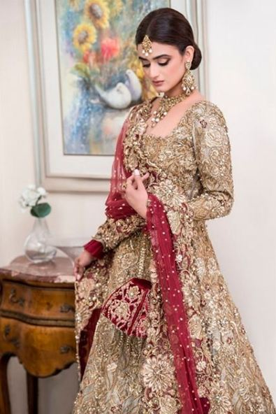 Hira Mani Pakistani Actress Bridal Photo Shoot for Nickie Nina (4)