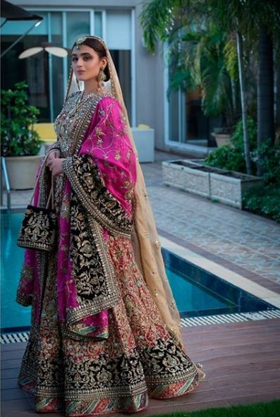 Hira Mani Pakistani Actress Bridal Photo Shoot for Nickie Nina (6)