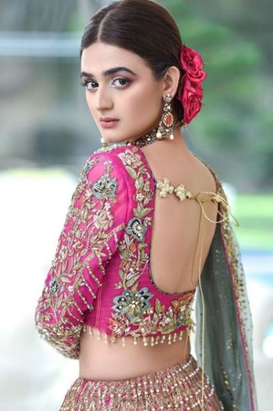 Hira Mani Pakistani Actress Bridal Photo Shoot for Nickie Nina (9)