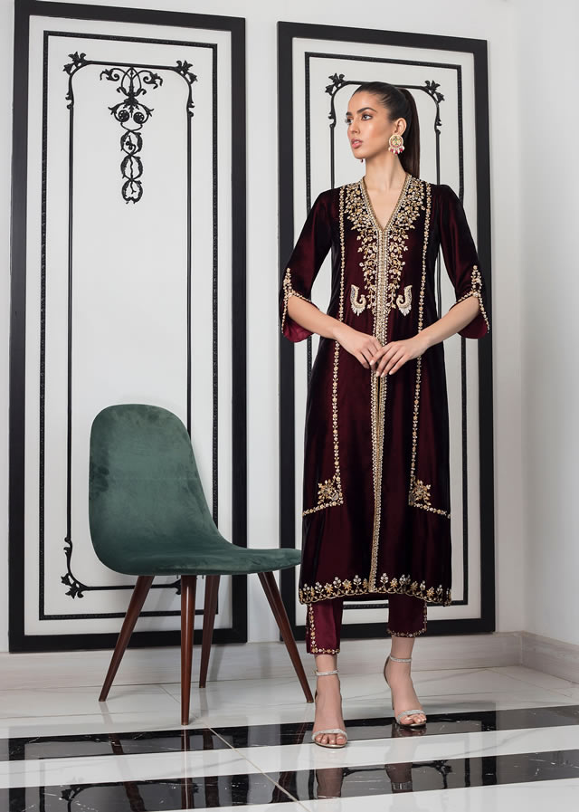 INARA Winter Luxury Collection 2019-20 By Sania Maskatiya (15)
