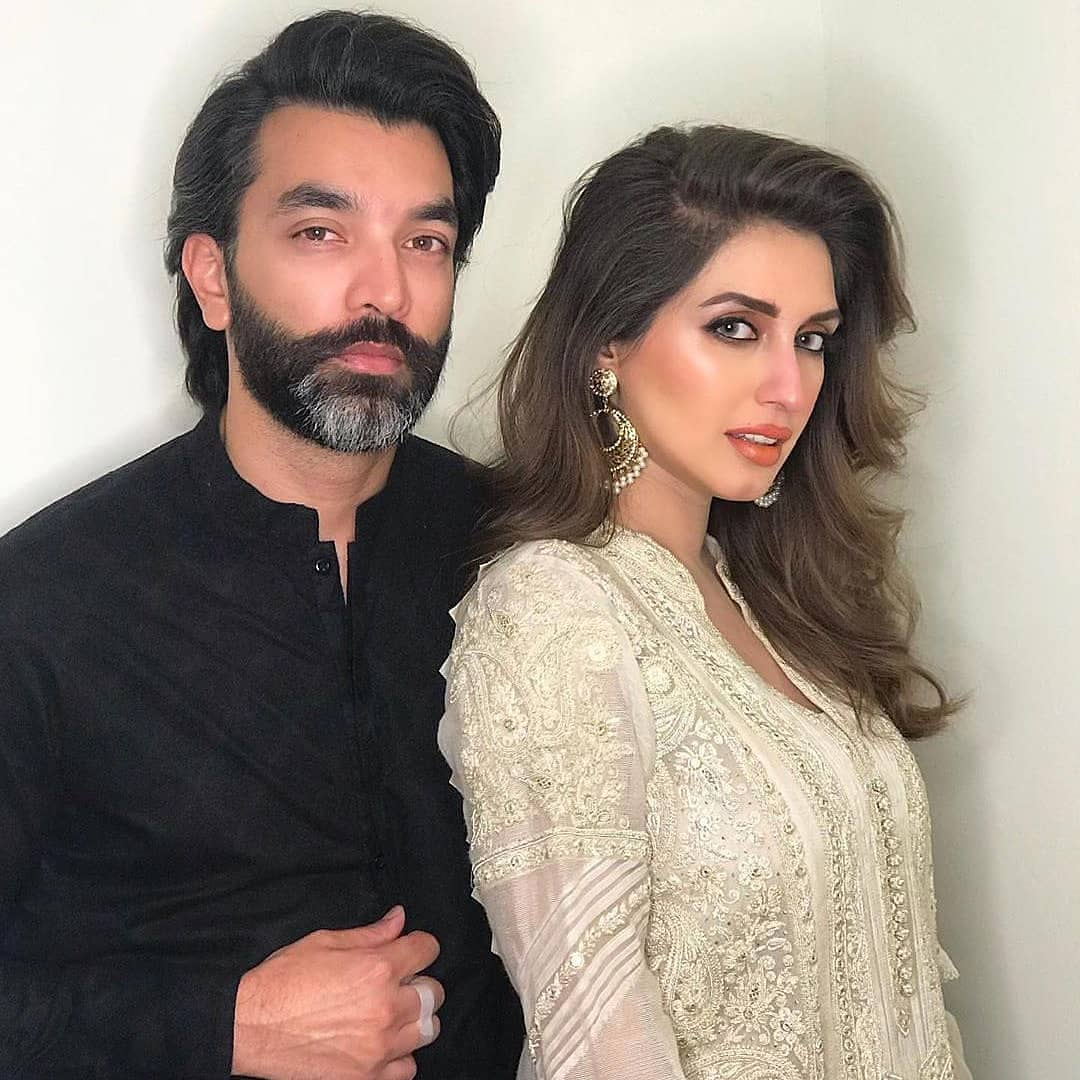 Iman Ali Famous Pakistani Actress Pictures with her Husband (11)