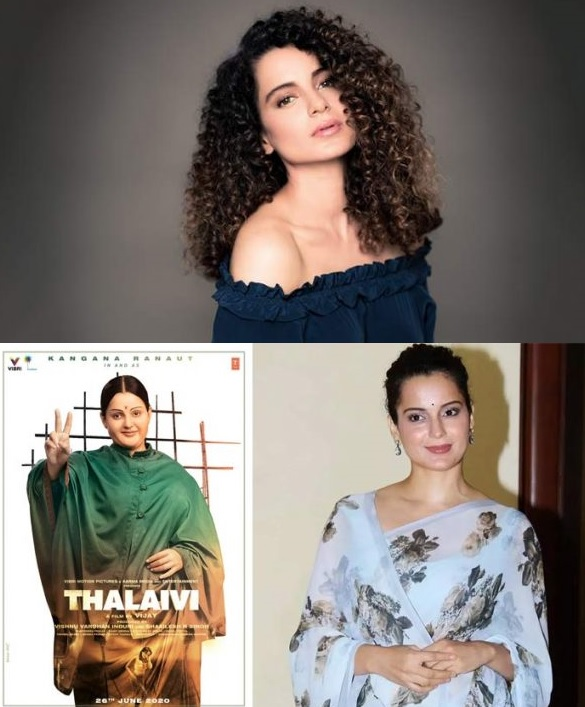 Kangana Ranaut New Look Transformation for upcoming Movie Thalaivi (1)