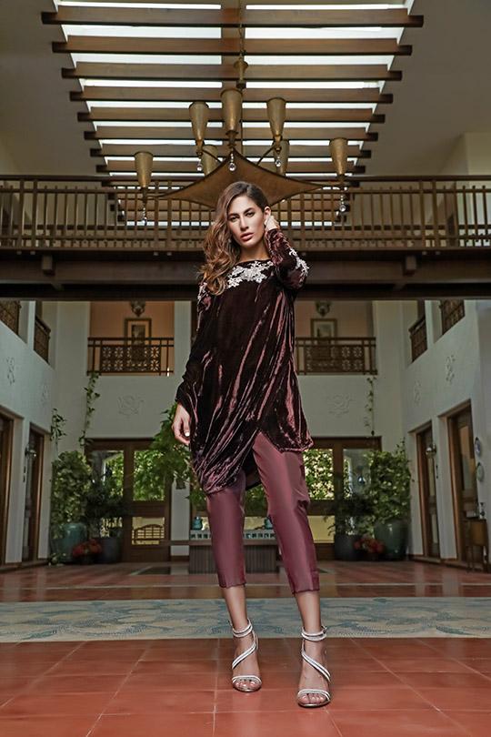 La Amour Winter Wear Collection 2019-20 By Rozina Munib (26)