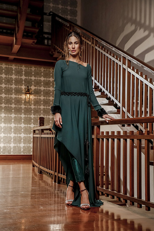 La Amour Winter Wear Collection 2019-20 By Rozina Munib (32)