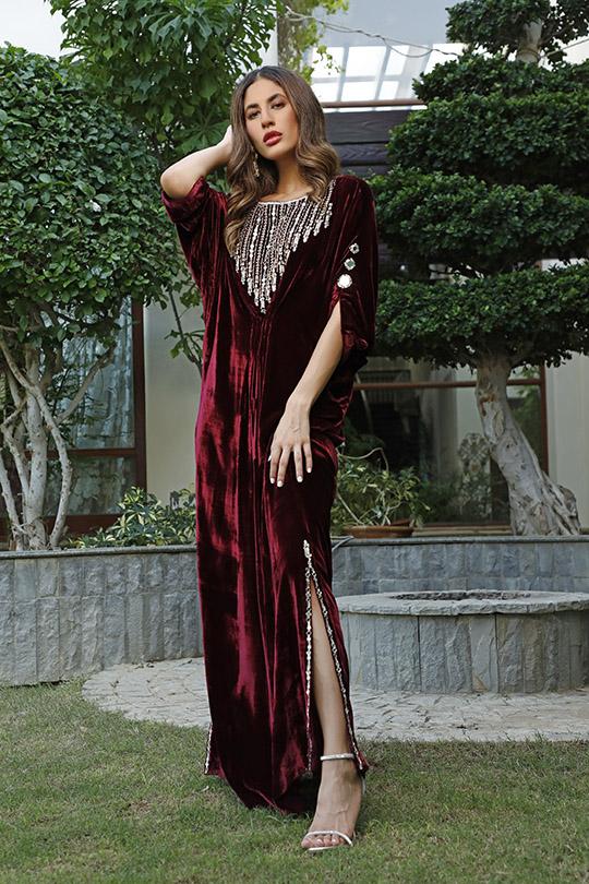 La Amour Winter Wear Collection 2019-20 By Rozina Munib (6)