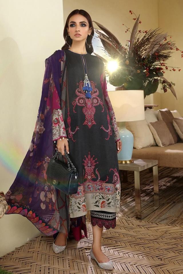 Muslin Winter Latest Collection 2019-20 By Sana Safinaz (6)