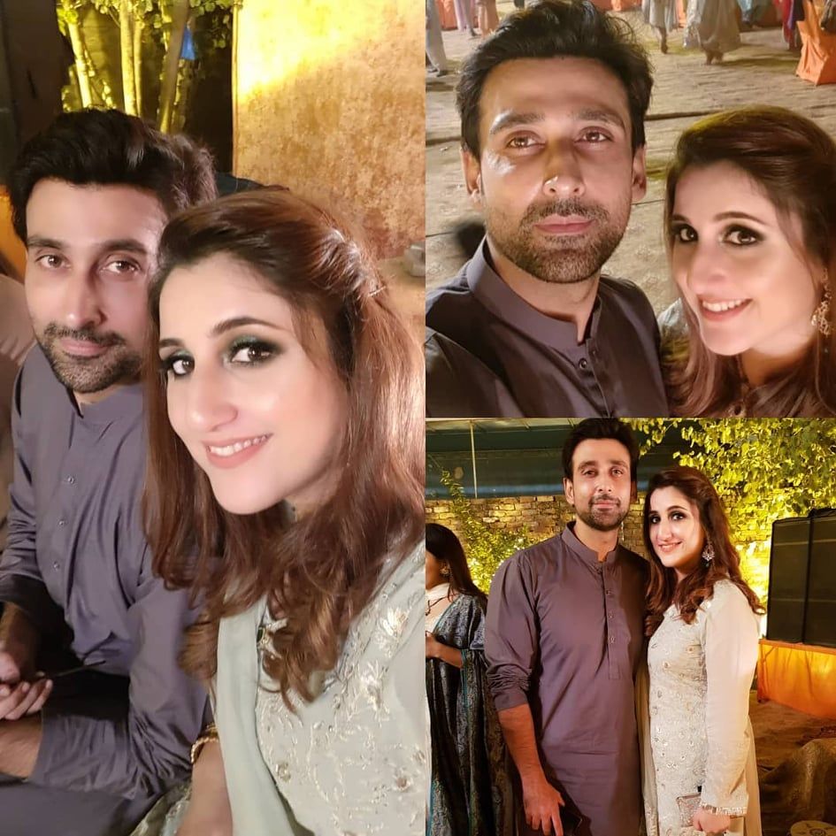 Sami Khan And His Wife Images at a Family Wedding (10)