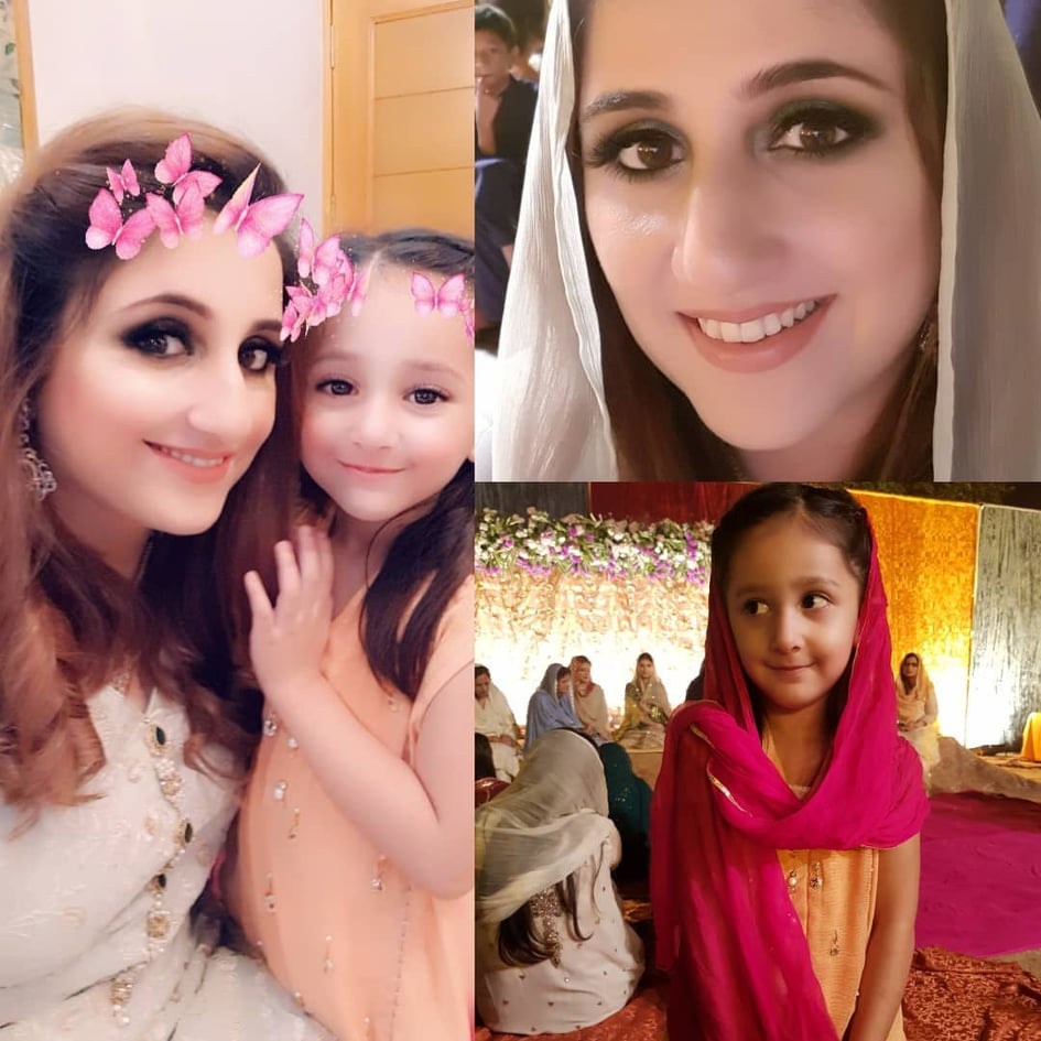 Sami Khan And His Wife Images at a Family Wedding (23)
