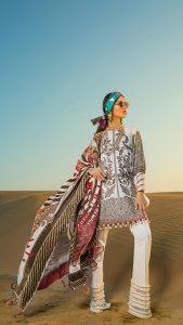 Sana Safinaz Winter Shawl Collection Looks 2019-20 (10)