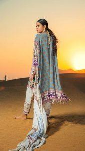 Sana Safinaz Winter Shawl Collection Looks 2019-20 (6)