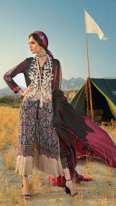 Sana Safinaz Winter Shawl Collection Looks 2019-20 (8)