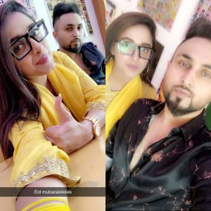 Sanam Chaudhry Actress Nikkah with Singer Somee Chohan Pictures (11)