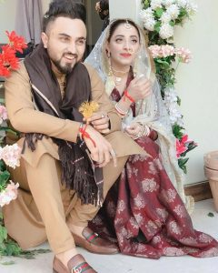 Sanam Chaudhry Actress Nikkah with Singer Somee Chohan Pictures (24)