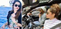 Saniya Shamshad Pakistani Actress Images with her Husband in Australia (1)