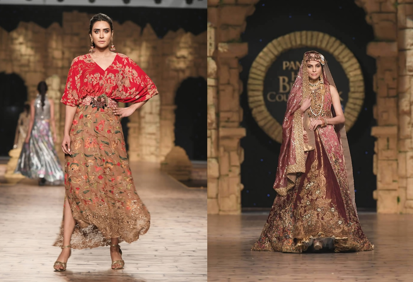 Dastaan-e-Firdaus Bridal Collection at PHBCW19 By Nilofer Shahid (1)