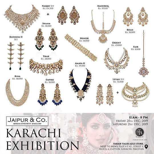Festive Season Luxury Jewellry Collection By Jaipur & Co (2)