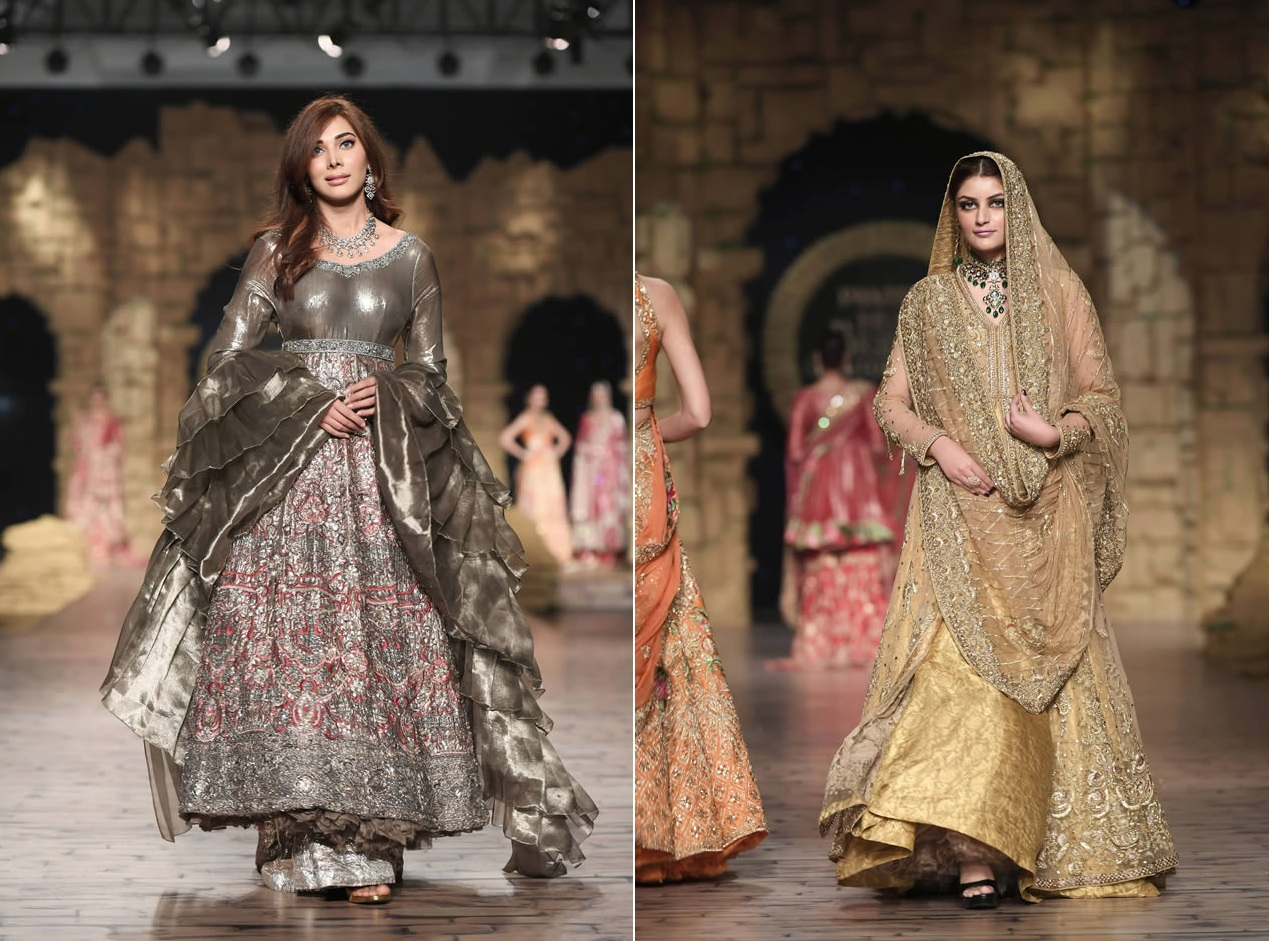 Gul Mohar Luxury Dresses Collection at Bridal Couture Week 2019-20 by Honey Waqar (1)