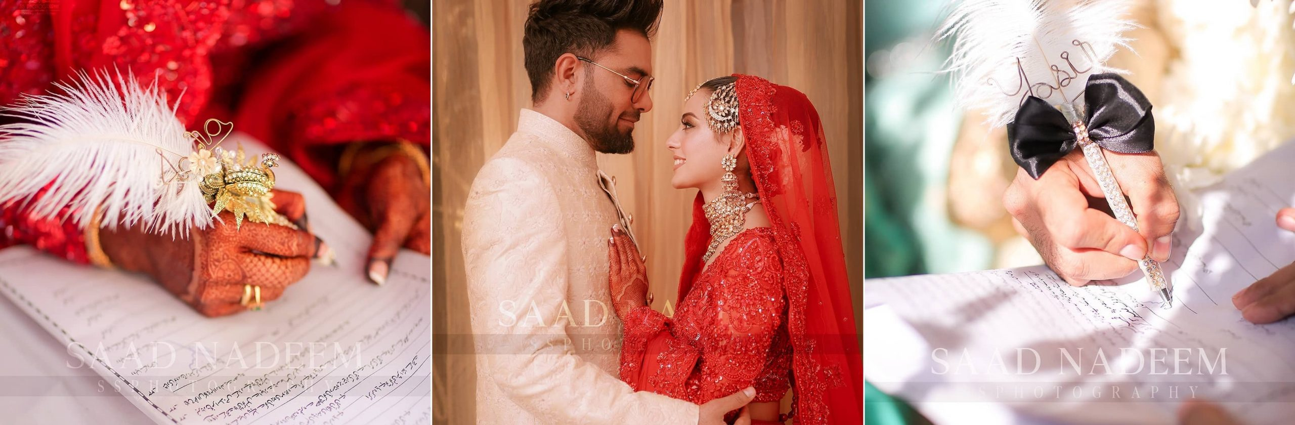 Iqra Aziz and Yasir Hussain Wedding Pictures (1)
