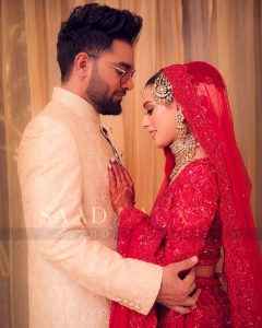 Iqra Aziz and Yasir Hussain Wedding Pictures (16)