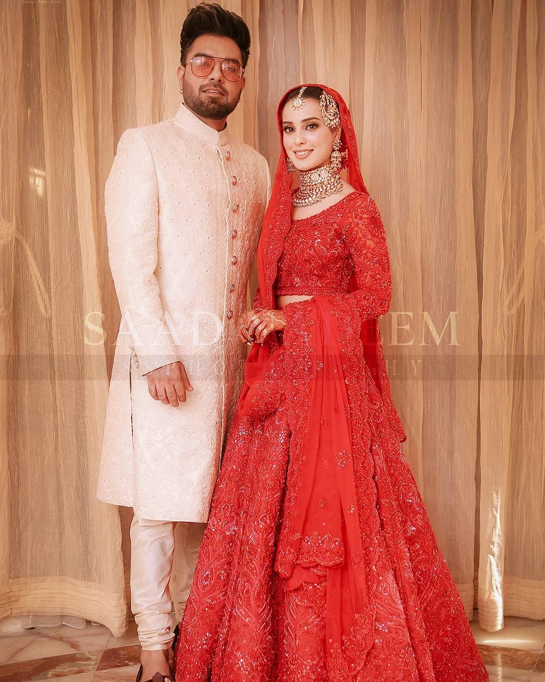Iqra Aziz and Yasir Hussain Wedding Pictures (24)