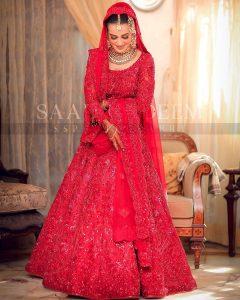 Iqra Aziz and Yasir Hussain Wedding Pictures (36)