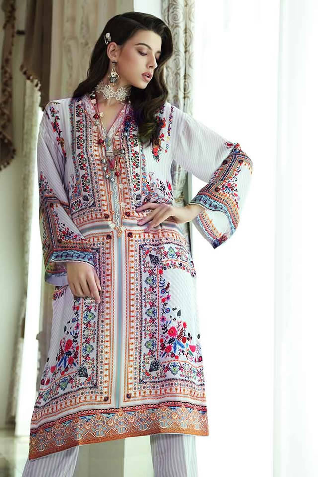 LAMIS Digital Charmeuse Silk Dresses Collection 2020 By Gul Ahmed (2)