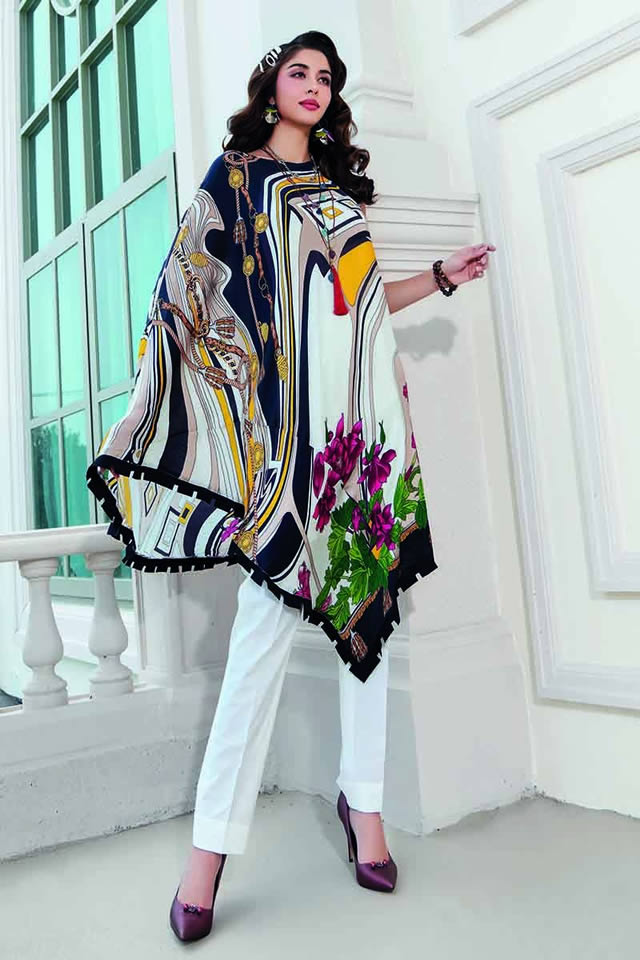 LAMIS Digital Charmeuse Silk Dresses Collection 2020 By Gul Ahmed (4)