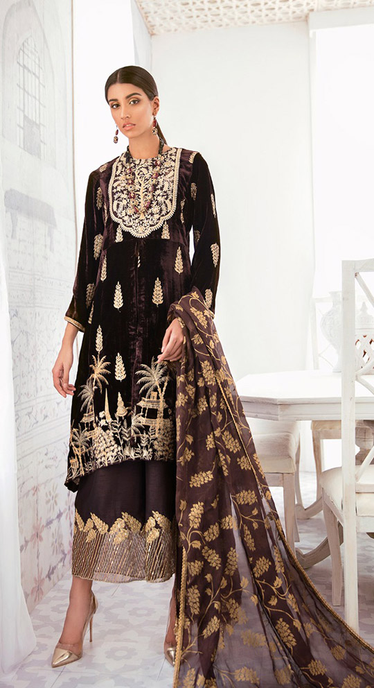 Luxury Dresses Designs Looks By Cross Stitch (3)