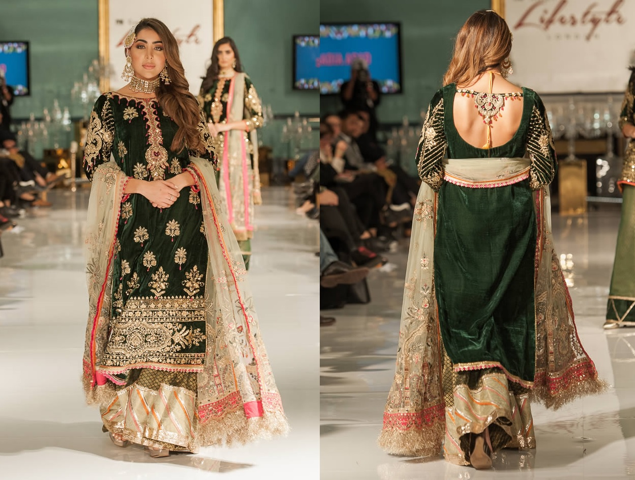Noor Embroidered Winter Festive 2019-20 Collection at Lifestyle London By Saadia Asad (36)
