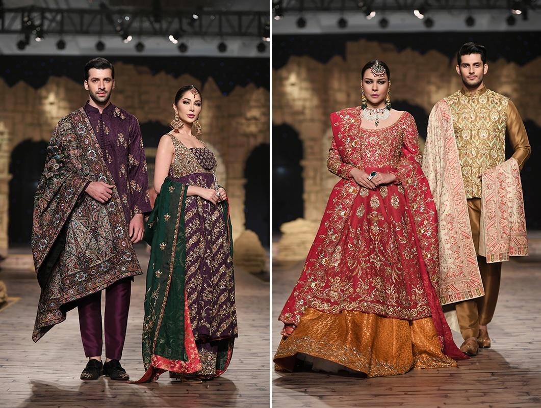 Shamsha Hashwani, Umsha By Uzma Babar and Anaya By Kiran Chaudhry Collections At PHBCW (1)