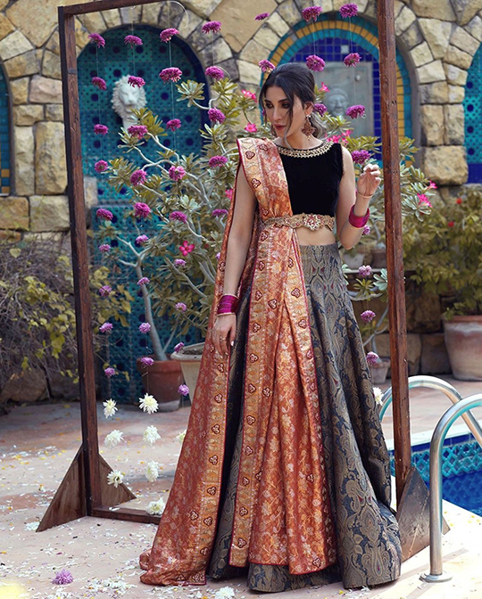 Umsha By Uzma Babar Nine latest Looks 2020 (3)