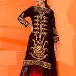 Velvet Embroidered Winter Wear Collection 2019-20 By Al-Zohaib (14)