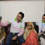 ZONG 4G's New Hope Volunteers spent a day at Bint-e-Fatima Old Age Homes, Karachi (1)