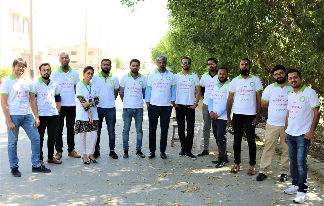 ZONG 4G's New Hope Volunteers spent a day at Bint-e-Fatima Old Age Homes, Karachi (3)