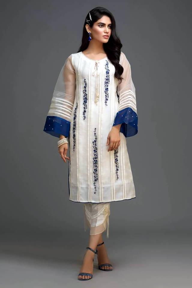 Zaaviay's All White Silk Organza Winter Collection 2019-20 (6)