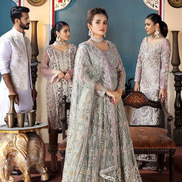 Bilal Saeed Sumbul Iqbal Bride and Groom Photo Shoot For a Fashion Brand (3)