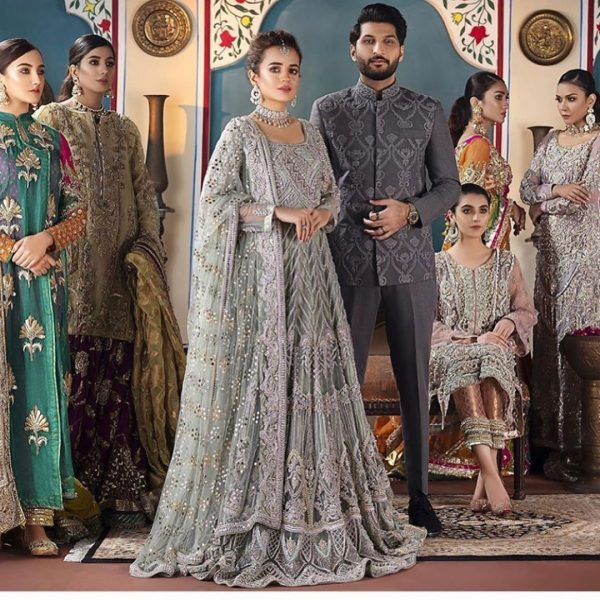 Bilal Saeed Sumbul Iqbal Bride and Groom Photo Shoot For a Fashion Brand (4)