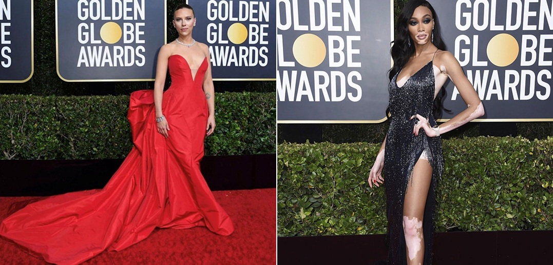 Golden Globe seems to set fire to the red carpet (1)