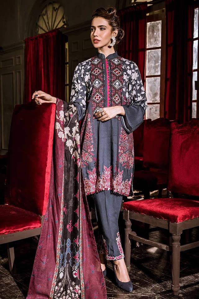 Khaddar Shirt Digital Printed Collection By Cross Stitch (4)