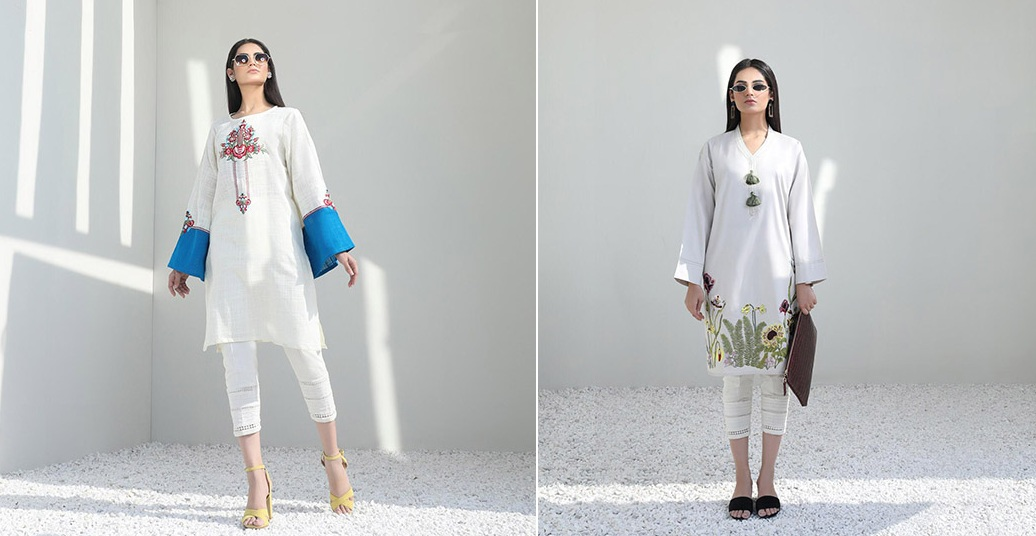 Mid-Winter Minimalistic Fashion Collection 2020 By Sana Safinaz (1)