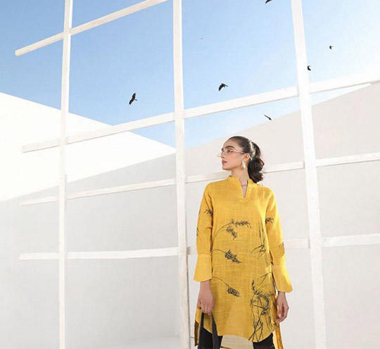 Mid-Winter Minimalistic Fashion Collection 2020 By Sana Safinaz (12)