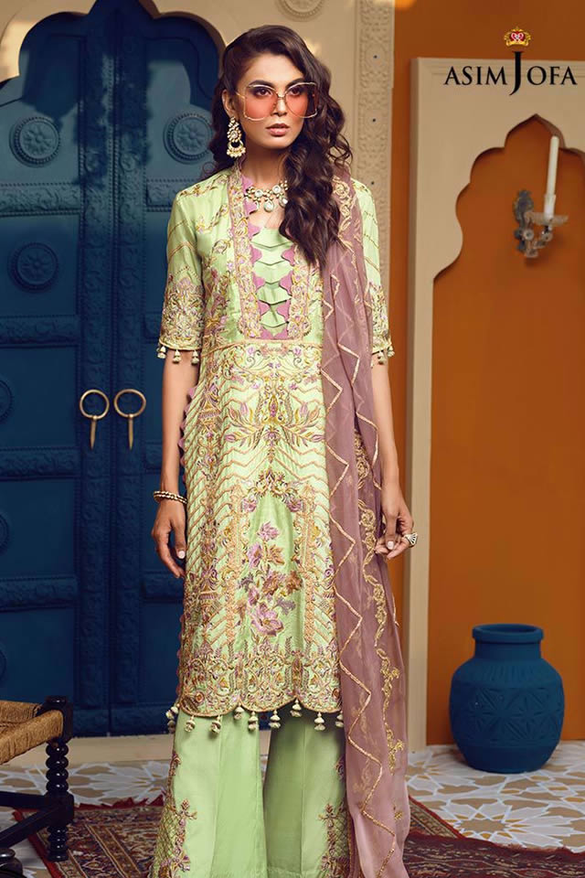 Orne Mysorie Chiffon Dresses Collection 2020 By Asim Jofa (12)