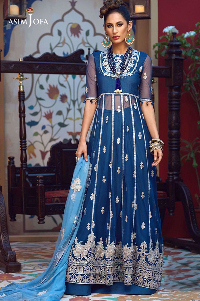 Orne Mysorie Chiffon Dresses Collection 2020 By Asim Jofa (2)