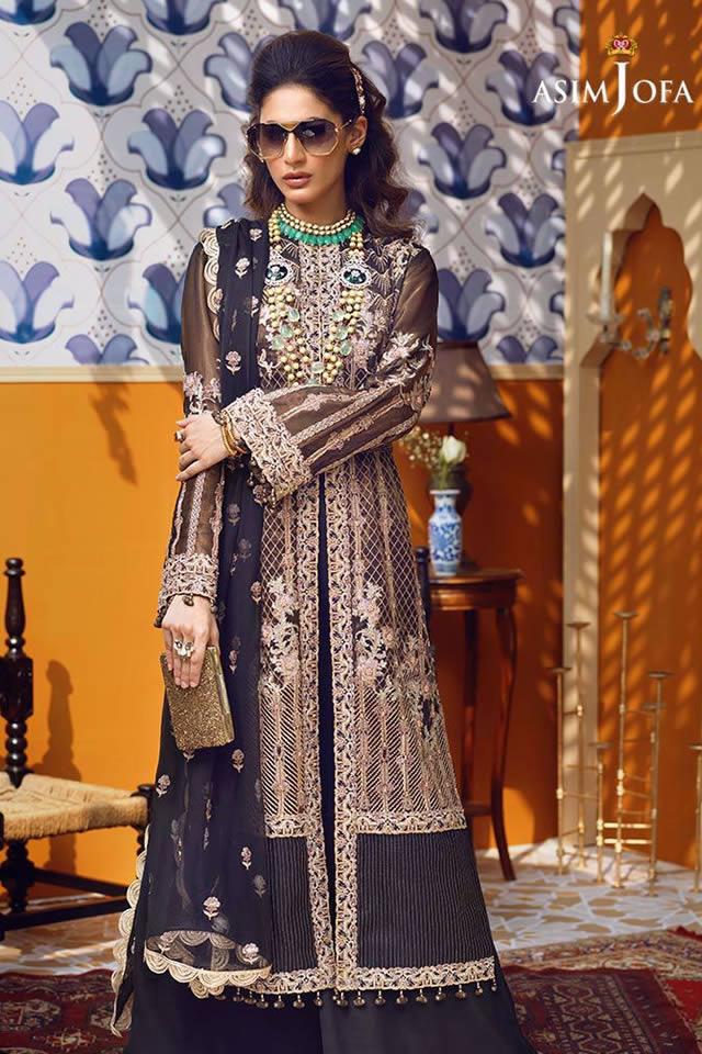 Orne Mysorie Chiffon Dresses Collection 2020 By Asim Jofa (8)