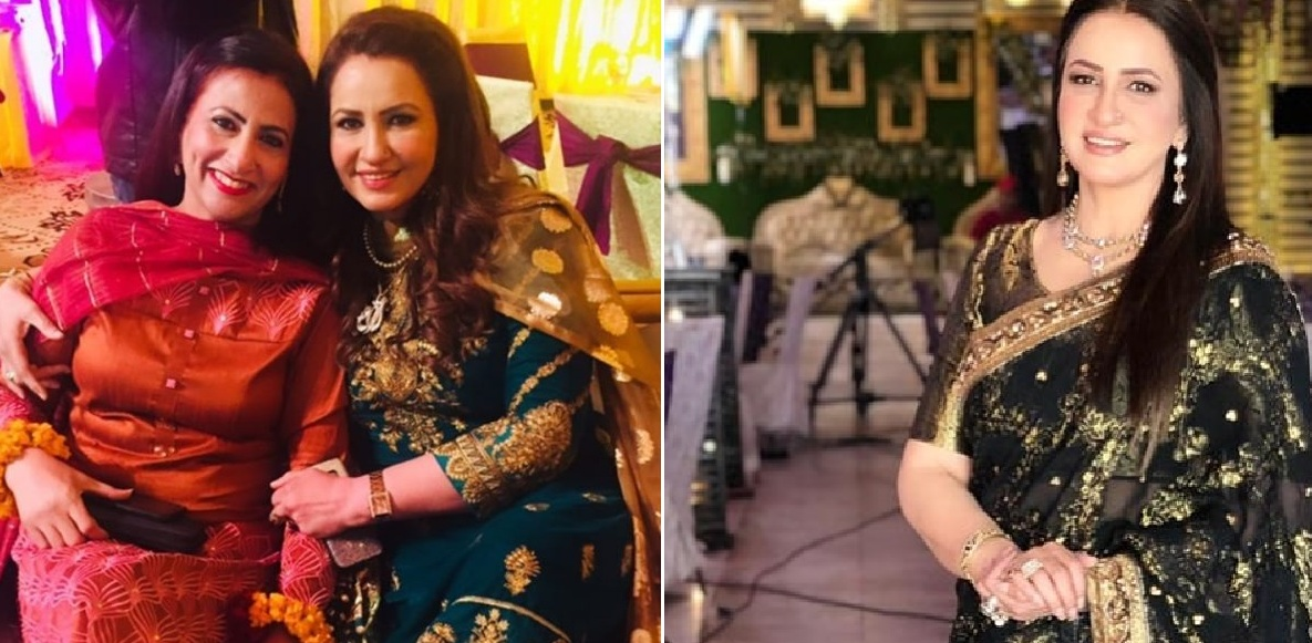 Saba Faisal Images with Family at Wedding Event (10)