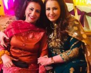 Saba Faisal Images with Family at Wedding Event (3)