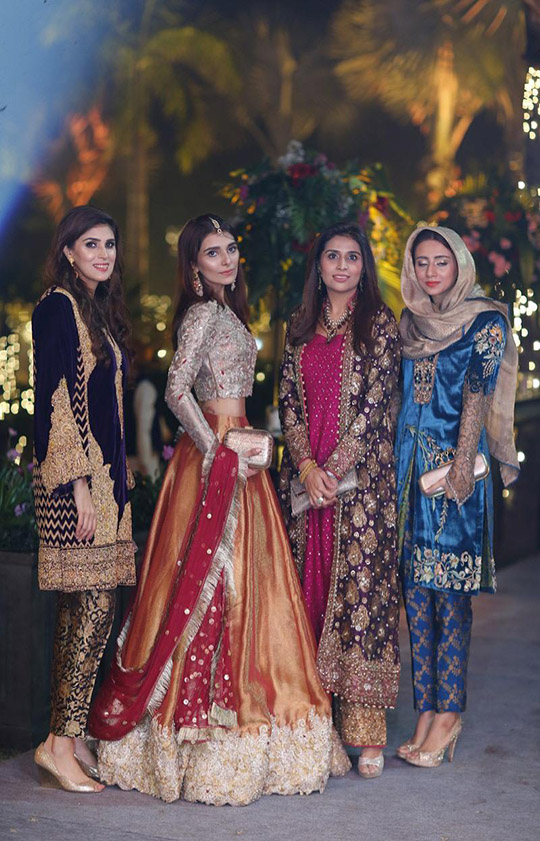 Womens Latest Wedding Wear Collection 2020 By Zainab Salman (1)